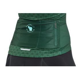 Bontrager Anara LTD Jersey Women green kaleidoscope